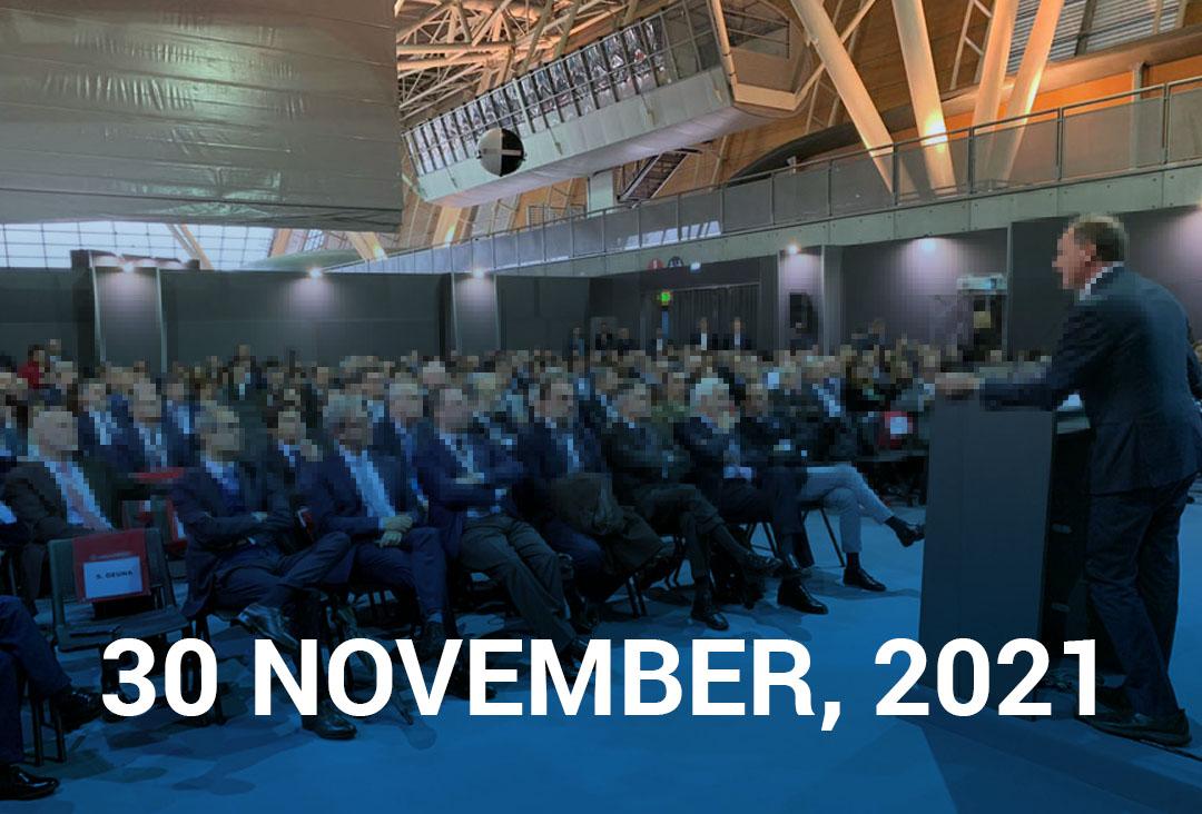 30 november agenda