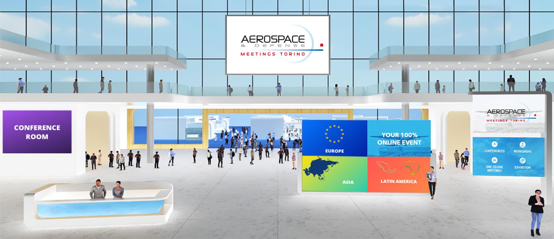 aerospace defense meetings torino registration online